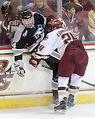Myles Harvey (Providence - 44), Matt Lombardi (BC - 24) - The Boston College Eagles defeated the Providence College Friars 4-1 on Tuesday, January 12, 2010, at Conte Forum in Chestnut Hill, Massachusetts.