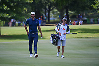Dustin Johnson (USA) makes his way down 9 during round 4 of the WGC FedEx St. Jude Invitational, TPC Southwind, Memphis, Tennessee, USA. 7/28/2019.<br /> Picture Ken Murray / Golffile.ie<br /> <br /> All photo usage must carry mandatory copyright credit (© Golffile | Ken Murray)