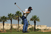 Joel Girrbach (SUI) during the final round of the Ras Al Khaimah Challenge Tour Grand Final played at Al Hamra Golf Club, Ras Al Khaimah, UAE. 03/11/2018<br /> Picture: Golffile | Phil Inglis<br /> <br /> All photo usage must carry mandatory copyright credit (&copy; Golffile | Phil Inglis)