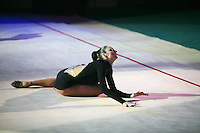 "Anna Bessonova of Ukraine performs gala exhibition at 2008 World Cup Kiev, ""Deriugina Cup"" in Kiev, Ukraine on March 22, 2008."