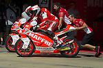 Gran Premi Monster de Catalunya in Montmeló Circuit<br /> 14/06/2014 <br /> moto2 free practices<br /> jordi torres <br /> nico terol<br />RM/PHOTOCALL3000