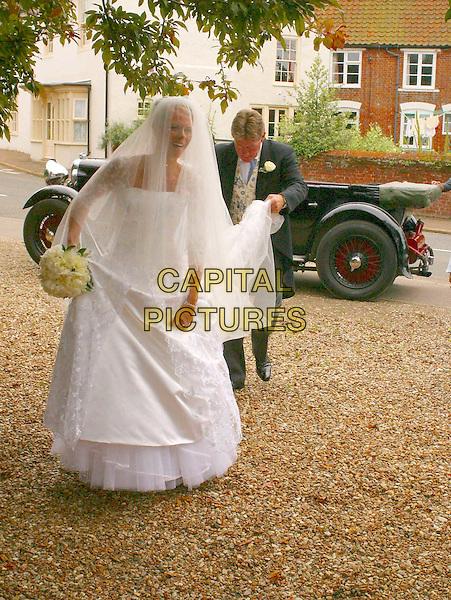 CAROLINE TASKER.England Rugby star Will Greenwood's wedding to long term girlfriend Caroline Tasker, Thorham, Norfolk.www.capitalpictures.com.sales@capitalpictures.com.© Capital Pictures.