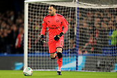 10th January 2018, Stamford Bridge, London, England; Carabao Cup football, semi final, 1st leg, Chelsea versus Arsenal; David Ospina of Arsenal