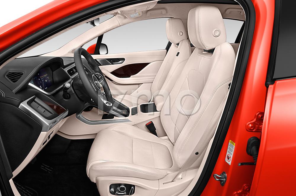 Front seat view of a 2019 Jaguar I Pace HSE 5 Door Hatchback front seat car photos