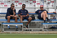 Yorkshire head coach Andrew Gale (R) looks on during Essex CCC vs Yorkshire CCC, Specsavers County Championship Division 1 Cricket at The Cloudfm County Ground on 7th July 2019