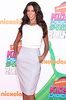 WESTWOOD, LOS ANGELES, CA, USA - JULY 17: Terri Seymour at the Nickelodeon Kids' Choice Sports Awards 2014 held at UCLA's Pauley Pavilion on July 17, 2014 in Westwood, Los Angeles, California, United States. (Photo by Xavier Collin/Celebrity Monitor)