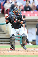 May 15, 2010: Ivan Castro of the Quad City River Bandits at Elfstrom Stadium in Geneva, IL. The River Bandits are the Class A affiliate of the St. Louis Cardinals. Photo by: Chris Proctor/Four Seam Images