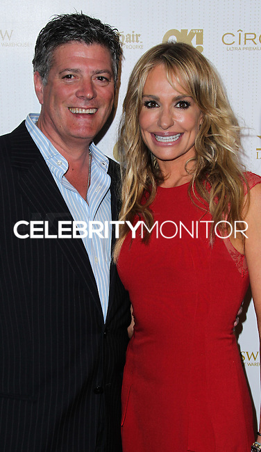 WEST HOLLYWOOD, CA, USA - FEBRUARY 27: John Bluher, Taylor Armstrong at the OK! Magazine Pre-Oscar Party 2014 held at Greystone Manor Supperclub on February 27, 2014 in West Hollywood, California, United States. (Photo by Xavier Collin/Celebrity Monitor)