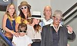 Johnny Depp, Jack Depp, Lily Rose Melody Depp and Amber Heard, Jul 18, 2013 : Tokyo, Japan : Johnny Depp, Jack Depp, Lily Rose Melody Depp and Amber Heard leave at Narita International Airport in Japan on July 18, 2013.