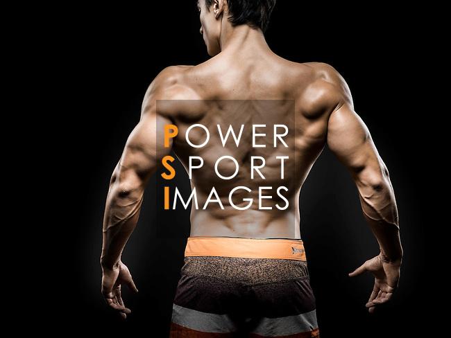 Lifetime natural Hong Kong Power-lifting IFBB Men's Physique Champion Sebastian Mok poses during a photo shootng in Hong Kong on 18 november 2015. Photo by Victor Fraile / Power Sport Images