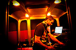 Shawn Roj spins at Hyde Lounge in Mammoth Lakes, Calif., January 27, 2011.