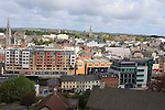 Past and Present picture from Millmount of John street and Dwyer street..Picture:  Fran Caffrey www.newsfile.ie ..