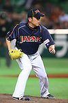 Kenji Otonari (JPN), .MARCH 6, 2013 - WBC : .2013 World Baseball Classic .1st Round Pool A .between Japan 3-6 Cuba .at Yafuoku Dome, Fukuoka, Japan. .(Photo by YUTAKA/AFLO SPORT) [1040]
