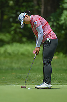 Amy Yang (KOR) watches her putt on  1 during round 1 of the U.S. Women's Open Championship, Shoal Creek Country Club, at Birmingham, Alabama, USA. 5/31/2018.<br /> Picture: Golffile | Ken Murray<br /> <br /> All photo usage must carry mandatory copyright credit (&copy; Golffile | Ken Murray)