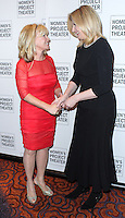 NEW YORK CITY, NY, USA - MARCH 10: Sharon Bush, Arianna Huffington at the Women Project Theater's 2014 Women Of Achievement Gala held at Mandarin Oriental Hotel on March 10, 2014 in New York City, New York, United States. (Photo by Jeffery Duran/Celebrity Monitor)