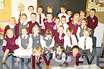 The 2008 junior infants class during their first day in Fossa National school on Monday.   Copyright Kerry's Eye 2008