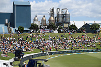 21st November 2019; Mt Maunganui, New Zealand;  General view international test match cricket, Day 1, New Zealand versus England at Bay Oval, Mt Maunganui, New Zealand.