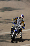 Chad Reed (22) competes during the Moto X Super Moto final during X-Games 12 in Los Angeles, California on August 6, 2006.
