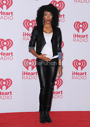 LAS VEGAS, NV - SEPTEMBER 19:  Sonequa Martin-Green at the 2014 iHeartRadio Music Festival at the MGM Grand Garden Arena on September 19, 2014 in Las Vegas, Nevada. PGSK/MediaPunch