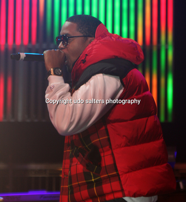 Nas performs at the Heineken Red Star Soul 2009 at Gotham Hall, New York NY