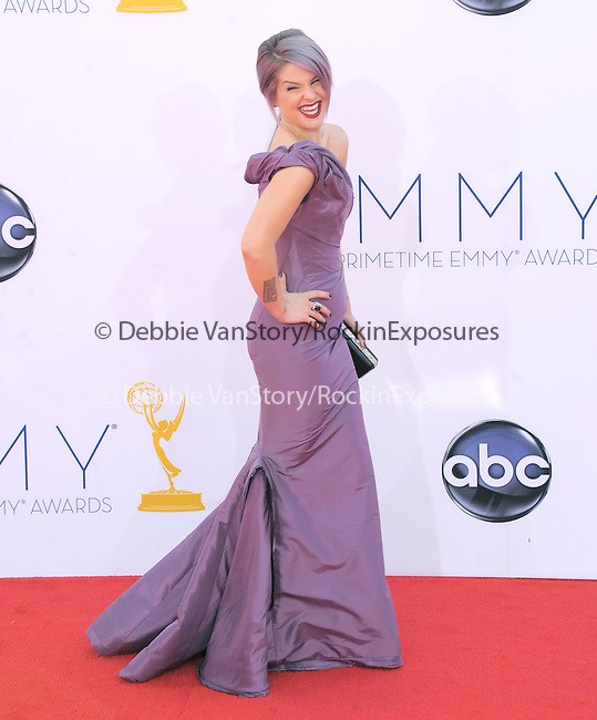 Kelly Osbourne at The 64th Anual Primetime Emmy Awards held at Nokia Theatre L.A. Live in Los Angeles, California on September  23,2012                                                                   Copyright 2012 Hollywood Press Agency