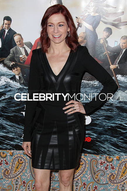 """HOLLYWOOD, LOS ANGELES, CA, USA - MARCH 24: Carrie Preston at the Los Angeles Premiere Of HBO's """"Veep"""" 3rd Season held at Paramount Studios on March 24, 2014 in Hollywood, Los Angeles, California, United States. (Photo by Xavier Collin/Celebrity Monitor)"""
