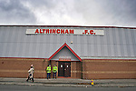 Altrincham 1 Millwall 2, 10/11/2007. Moss Lane, Altrincham. FA Cup 1st Round. Photo by Colin McPherson.