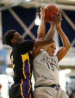 Metro Classic 2015:  Montverde Academy (FL) Eagles vs St. Benedict's Gray Bees Boys Basketball at Kean University's Harwood Arena, Union, NJ, on Saturday, February 14, 2015.  Montverde Academy  (FL) defeated St. Benedict's by the score of 67 - 62.