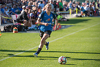 Kansas City, MO - Sunday May 07, 2017: Brittany Ratcliffe during a regular season National Women's Soccer League (NWSL) match between FC Kansas City and the Orlando Pride at Children's Mercy Victory Field.