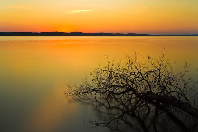 Sunset on Kentucky Lake