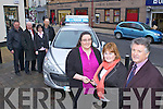 Pictured with the winner of the Tralee Credit Union Members Car Draw are front l-r: Grainne Foley (Treasurer Tralee Credit Union), Winner Mary Jo Murphy (Causeway), Brendan Treacy (Chairperson Tralee Credit Union). Back row l-r: Tony Fleming (Reen's Car Sales), Fintan Ryan (Tralee Credit Union Manager), Suzanne Ennis (Tralee Credit Union Marketing Development Officer) and Simon Murphy (Causeway).