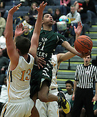 West Bloomfield at Clarkston, Boys Varsity Basketball, 3/3/16