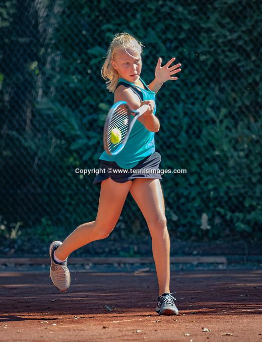 Hilversum, Netherlands, August 6, 2018, National Junior Championships, NJK, Jinte de Boer (NED)<br /> Photo: Tennisimages/Henk Koster
