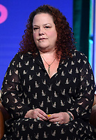 2019 FOX SUMMER TCA:  BLESS THE HARTS Creator/Executive Producer Emily Spivey during the ANIMATION DOMINATION: BLESS THE HARTS/DUNCANVILLE panel at the 2019 FOX SUMMER TCA at the Beverly Hilton Hotel, Wednesday, Aug. 7 in Beverly Hills, CA. CR: Frank Micelotta/FOX/PictureGroup