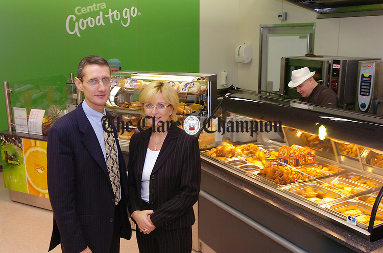Paul and Kay Ryan in their new Centra.