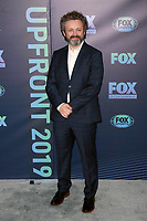 NEW YORK, NY - MAY 13: Michael Sheen at the FOX 2019 Upfront at Wollman Rink in Central Park, New York City on May 13, 2019. <br /> CAP/MPI99<br /> ©MPI99/Capital Pictures