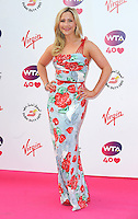 NON EXCLUSIVE PICTURE: PAUL TREADWAY / MATRIXPICTURES.CO.UK<br /> PLEASE CREDIT ALL USES<br /> <br /> WORLD RIGHTS<br /> <br /> British Sugababes pop star Heidi Range attending the WTA Pre Wimbledon Party, at London's Kensington Roof Gardens.<br /> <br /> 20th JUNE 2013<br /> <br /> REF: PTY 134225