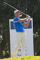 Alejandro Canizares (ESP) during the final day of the  Andalucía Masters at Club de Golf Valderrama, Sotogrande, Spain. .Picture Denise Cleary www.golffile.ie