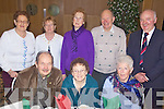 Senior's Party - Having a wonderful time at the Ballyduff Senior Citizen's Party held in The Ballyroe Heights Hotel on Sunday afternoon were seated l/r Paddy Fitzmaurice, Anne Campbell and Nuala Sowden, standing l/r Cait Deenihan, Jane Holly, Norma O'Sullivan, David Sowden and Joan Dawson.............................................................................................................................................................................................................................................................................................................. ............