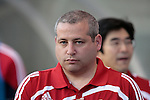 05 June 2009: Chicago Director of Team Operations Ron Stern. The Houston Dynamo defeated the Chicago Fire 1-0 at Toyota Park in Bridgeview, Illinois in a regular season Major League Soccer game.