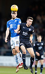 Dundee v St Johnstone&hellip;29.12.18&hellip;   Dens Park    SPFL<br />David Wotherspoon and Cammy Kerr<br />Picture by Graeme Hart. <br />Copyright Perthshire Picture Agency<br />Tel: 01738 623350  Mobile: 07990 594431