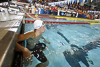 The University of Florida's Sebastien Rousseau competes in the 200 Individual Medley at the 2011 Men's NCAA Swimming & Diving Championships being held at the University of Minnesota in Minneapolis, MN. March 24th - 26th, 2011.