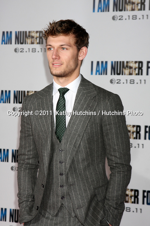 """LOS ANGELES - FEB 9:  Alex Pettyfer  arrives at the """"I Am Number Four"""" Premiere at Village Theater on February 9, 2011 in Westwood, CA"""