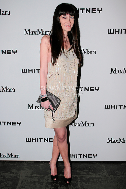 arrives at the annual Whitney Art Party hosted by the Whitney Contemporaries, and sponsored by Max Mara, at Skylight at Moynihan Station on May 1, 2013.