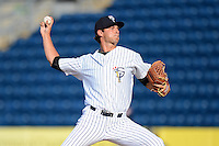 Staten Island Yankees pitcher Dillon McNamara #54 during a game against the Connecticut Tigers on July 7, 2013 at Richmond County Bank Ballpark in Staten Island, New York.  Staten Island defeated Connecticut 6-2.  (Mike Janes/Four Seam Images)