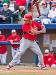 7 March 2015: St. Louis Cardinals infielder Kolten Wong in action during a Spring Training game against the Washington Nationals at Space Coast Stadium in Viera, Florida. The Cardinals fell to the Nationals 6-5 in Grapefruit League play. Mandatory Credit: Ed Wolfstein Photo *** RAW (NEF) Image File Available ***
