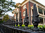 Photos of some Charleston ironwork. Charleston SC is famous for among many other well known things, its ornate ironwork practically everywhere.