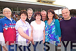 Reunion time for the Cronin family, who after 16yrs were all back together in Listowel for the Saturday race meeting, l-r Michael, Kathleen, Seamus, Ann Maria, Kieran, Breda and Mike...Michael and Breda live in Listowel, while the rest reside in USA