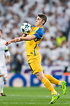 Roland Sallai of APOEL FC in action during the UEFA Champions League 2017-18 match between Real Madrid and APOEL FC at Estadio Santiago Bernabeu on 13 September 2017 in Madrid, Spain. Photo by Diego Gonzalez / Power Sport Images