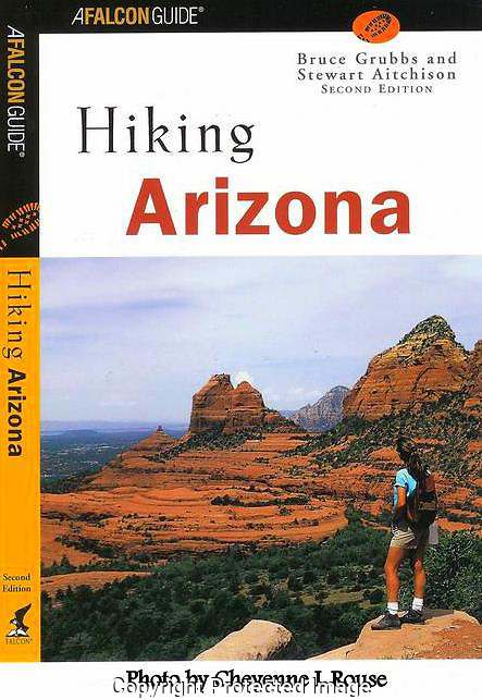Hiking Arizona Cover<br /> Falcon Press